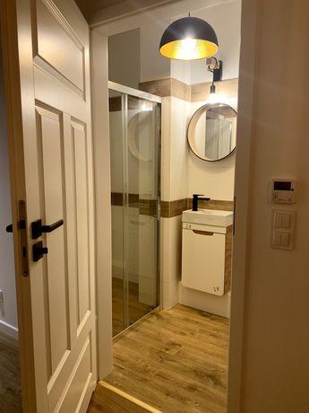 Nowy Apartament z ogródkiem//Wysoki Standard//