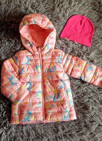 Куртка  на дівчинку ,весна,92-98 ,Lupilu