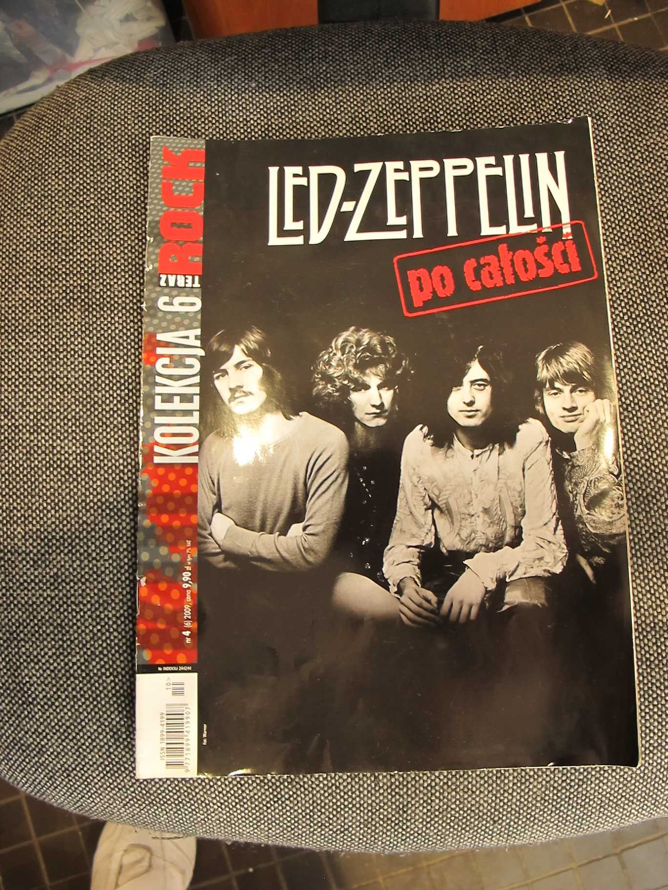 ROCK.Kolekcja 6 Led-Zeppelin. Czasopismo