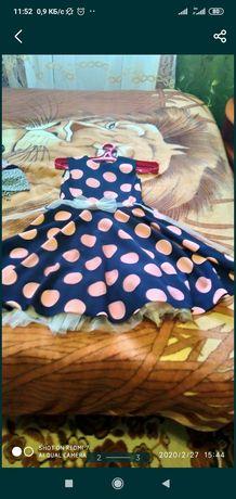 Платье на девочку 9-11лет
