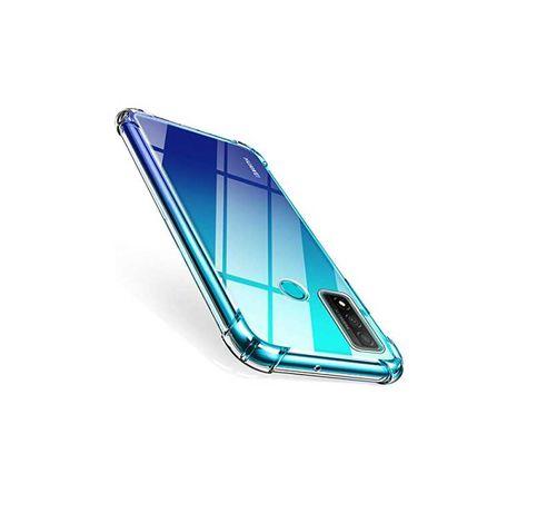 Capa TPU transparente Huawei P Smart 2020 (com vidro temperado x 2)