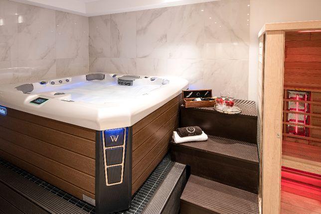 Luksusowe apartamenty z prywatną sauną i Jacuzzi.