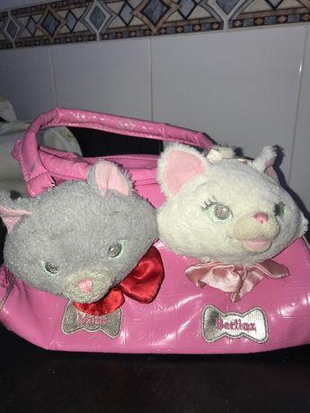 Bolsa da Disney com gatos (Marie e Berlioz)