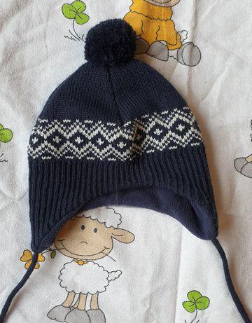 zimowa czapka hm 74 80