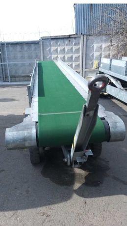 Аэродромный прицепной  конвейерный погрузчик багажа