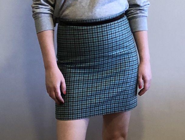Короткая юбка мини юбка шерсть Banana republic 0р. 36р. s
