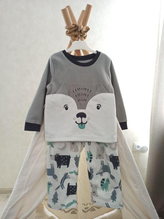 Carter's пижама 3t Зимняя теплая флисовая Дніпро - зображення 1
