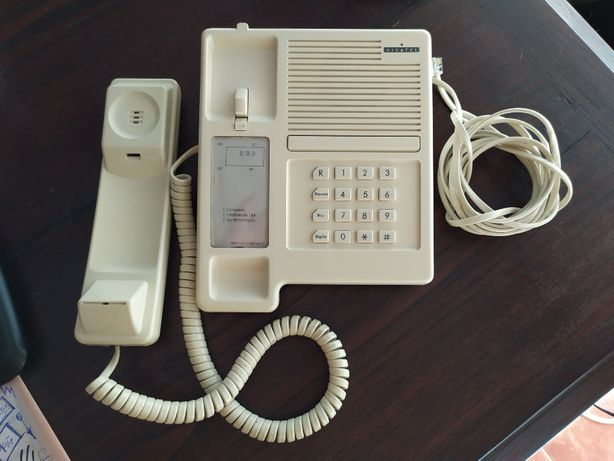 Telefone fixo Alcatel anos 90