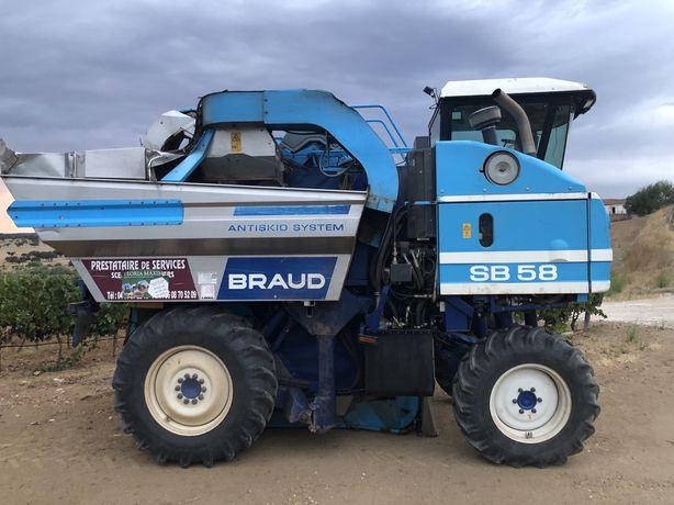 Maquina de vindimar SB58