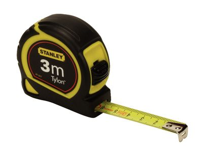 3x Fitas metricas 3 MT Stanley Tylon