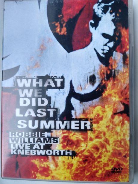 Live at Knebworth: Robbie Williams dvd koncert