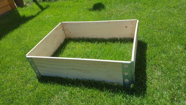 Warzywniak, kompostownik, kwietnik, skrzynia, nadstawki paletowe 80x60
