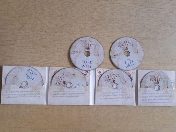 """Audiobook po niemiecku """"Świat bez końca"""" Ken Follett"""