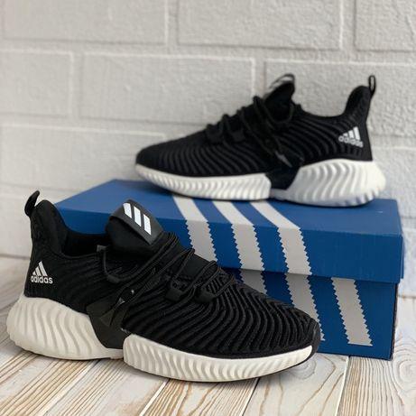 3100 Adidas Alphabounce кроссовки мужские черные адидас кросовки чорні