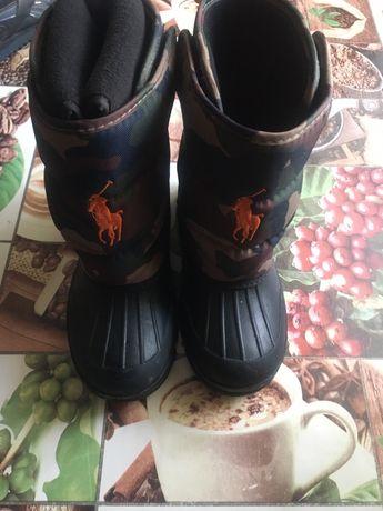 Сапоги-Ботинки Polo(оригинал)