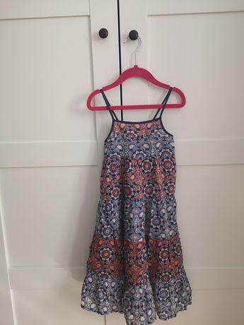 Cudowna sukienka suknia letnia idealna na lato 104 cm