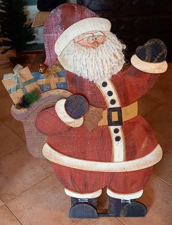 Pai Natal Decorativo Estimado como  Novo