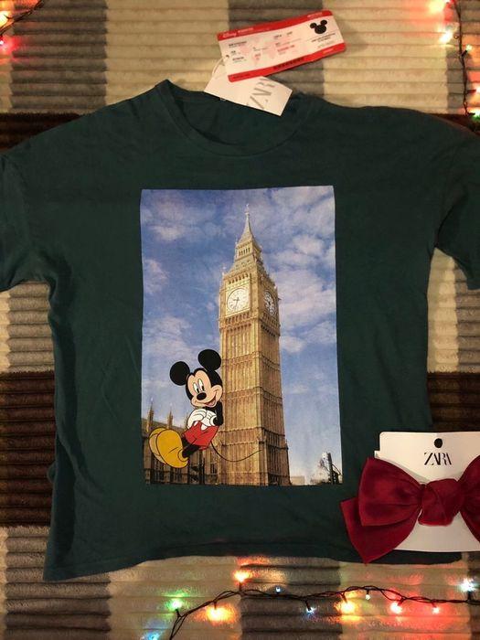 ZARA! Футболка Zara! Лондон!Миккимаус! Киев - изображение 1