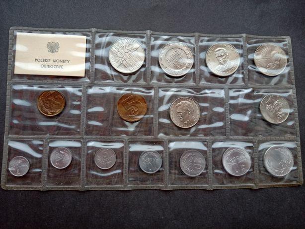 Zestaw monet - Polskie monety obiegowe PRL