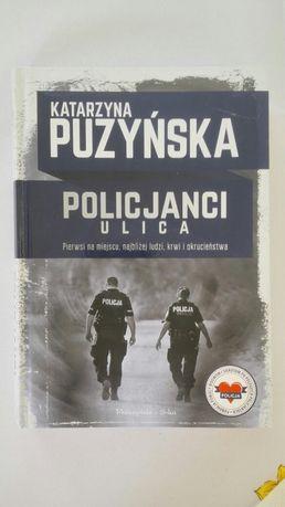 Katarzyna Puzyńska Policjanci ulica książka