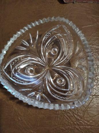 Хрустальная ваза для конфет салатов