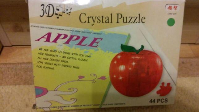 Пазлы 3D - яблоко