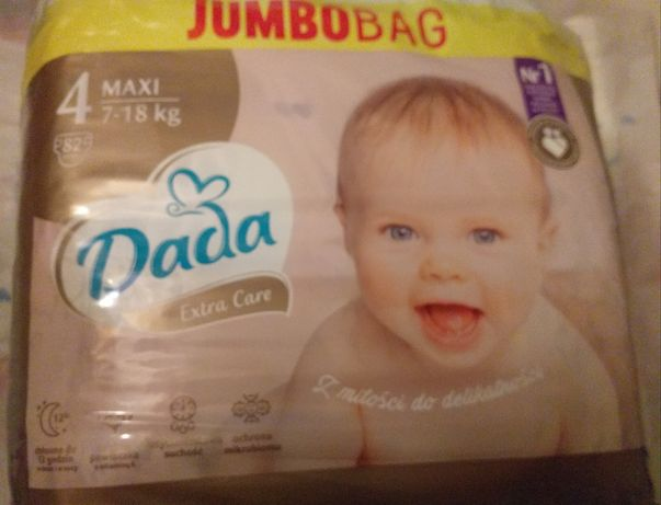 Pampersy Dada Jumbo Bag 3 i 4