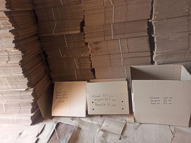 картонные коробки 5 слоев 60/40/30, новые, ящики, гофротара, упаковка