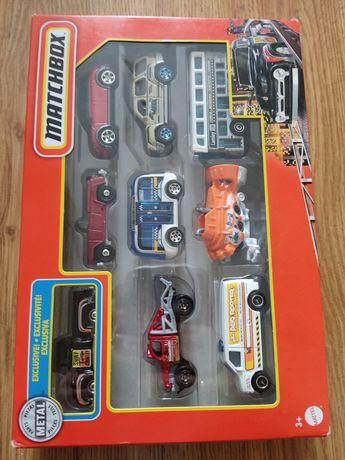 Samochody Matchbox 9-pak zestaw 9 aut