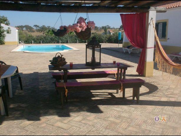 Casa para férias com piscina privativa e barbecue