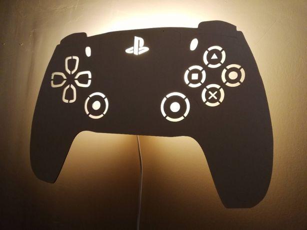 lampka Playstation 5 PS PAD 5 kinkiet na prąd e14 HIT nowość
