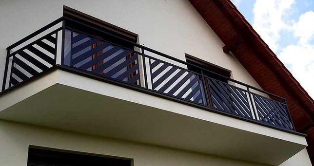 balustrady bramy ogrodzenia nowoczesne panelowe
