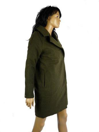 płaszcz klasyczny House zielony khaki S, M