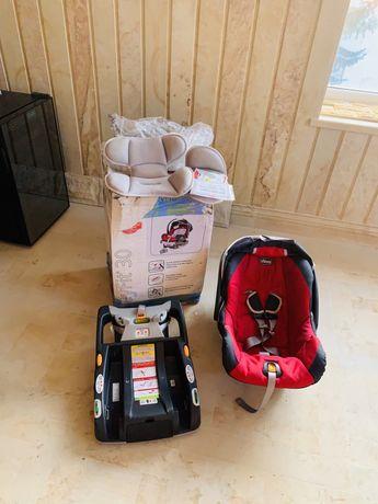Автомобільне дитяче автокрісло chicco Keyfit 30 Детское кресло