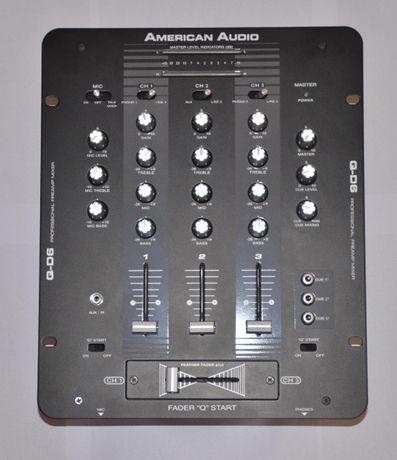 Профессиональный DJ микшерный пульт American Audio Q-D6
