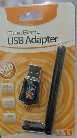 Karta sieciowa WiFi AC600 Mbps Wi-Fi standard ac USB 2.0 AKTUALNE