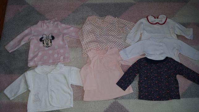 Bluzki z długim rękawem dla dziewczynki