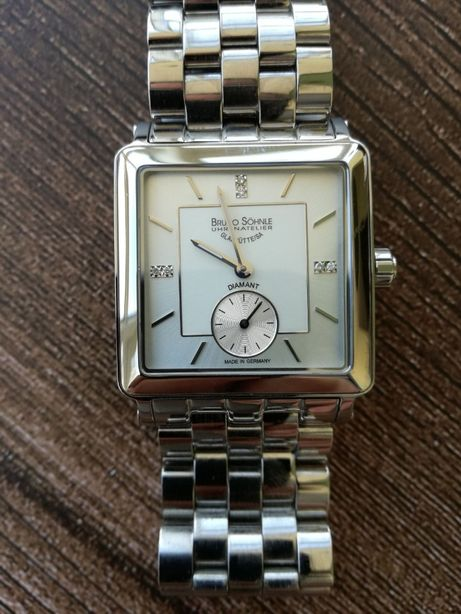 Наручные часы с брилиантами Bruno Söhnle Grandezza