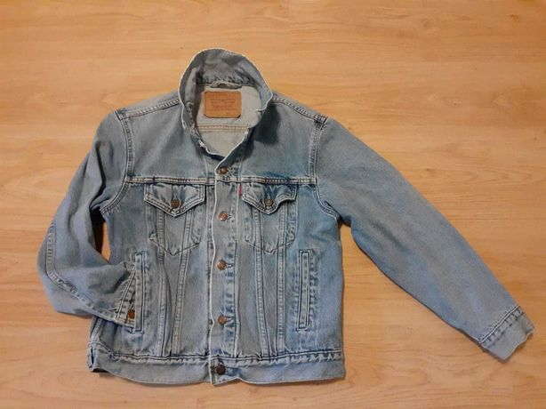 Katana kurtka dźinsowa jeansowa Levi's unikat oldschool z lat 90-tych