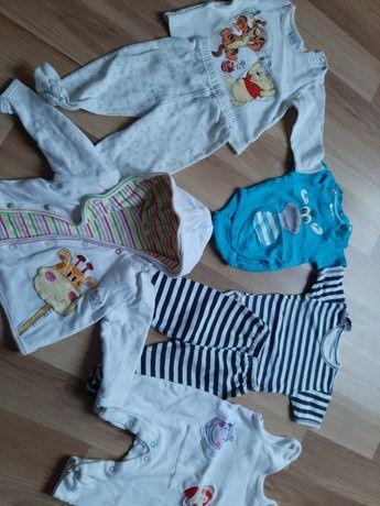 Zestaw ubrań dla niemowlaka roz. 56