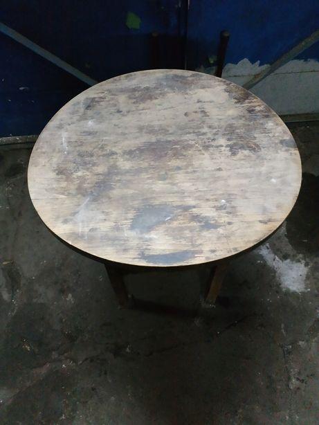 Stolik drewniany lata 60.