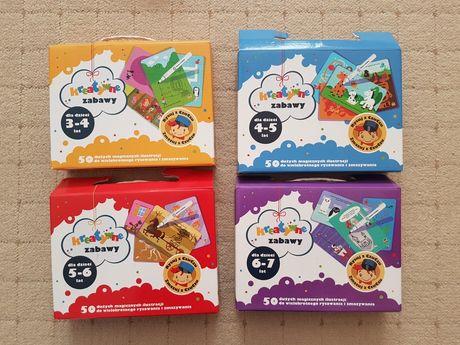 Gra dla dzieci Czuczu Kreatywne zabawy 3-4, 4-5, 5-6, 6-7 lat
