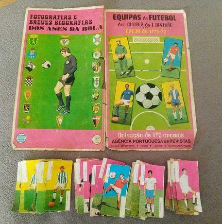 Cromos recuperados Equipas de Futebol dos Clubes da I Divisão 71/72