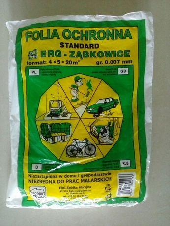 Folia malarska 4x5m 7mic Ząbkowice