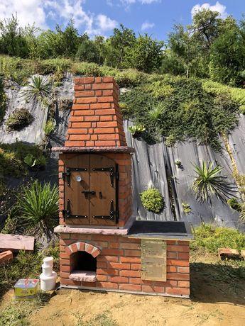 Kuchnia ogrodowa grill wędzarnia