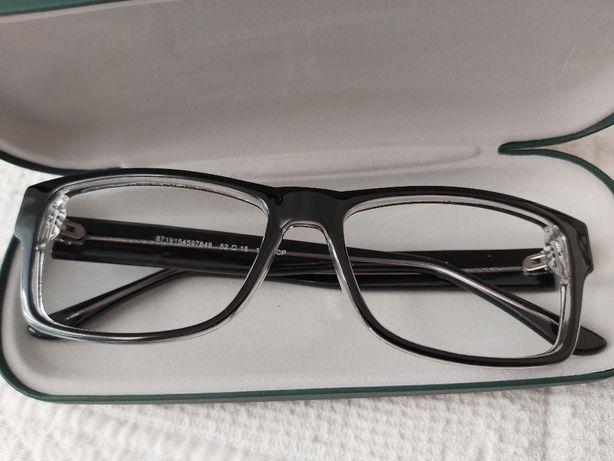 Armação oculos de cor preta The On Fonf 09 BX