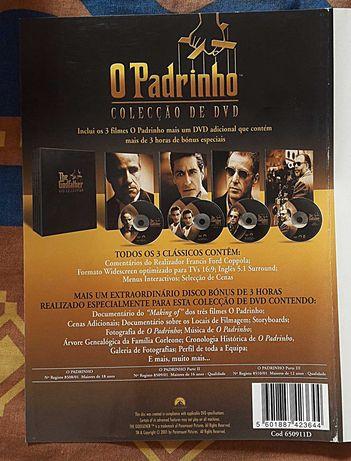 O Padrinho Colecção de DVD