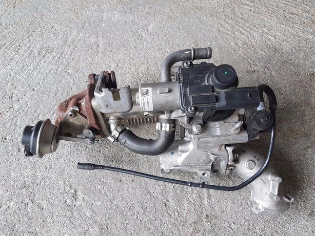 Corpo para EGR e válvulas de vacuo para Renault Megane 3 lll