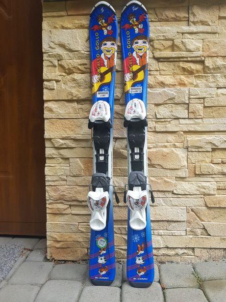 Narty Blizzard dziecięce 90 cm