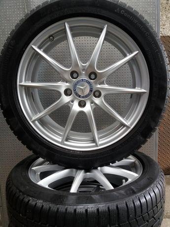 "Koła aluminiowe 17"" cali Mercedes Vw Audi Skoda Seat 5 x112 zimowe"